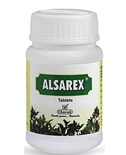 Alsarex is an ayurvedic herbal formulation for digestive health
