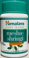 Himalaya Herbals Gymnema for Herbal Diabetes and Blood Sugar Control