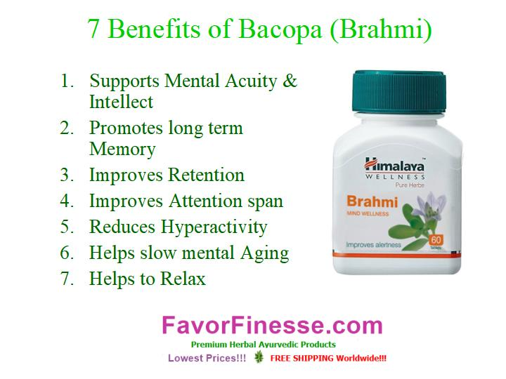 7 benefits of Bacopa