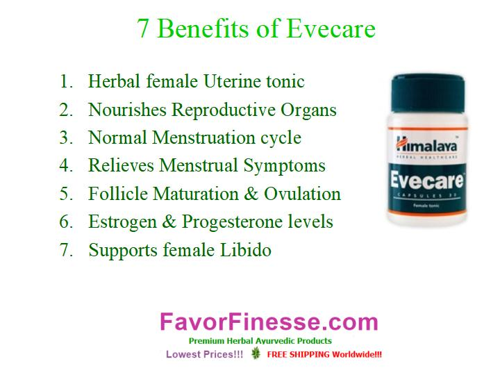 7 benefits of Evecare