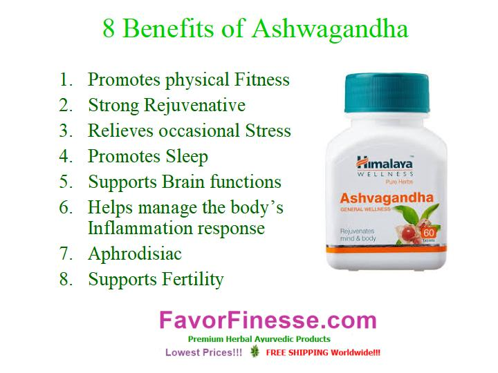 8 benefits of Ashwagandha