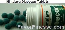 Diabecon Tablets size color shape