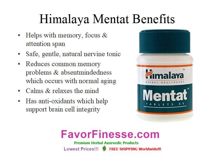 Himalaya Mentat benefits infographic