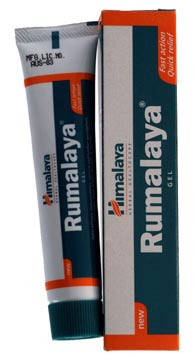 rumalaya gel for topical joint pain relief