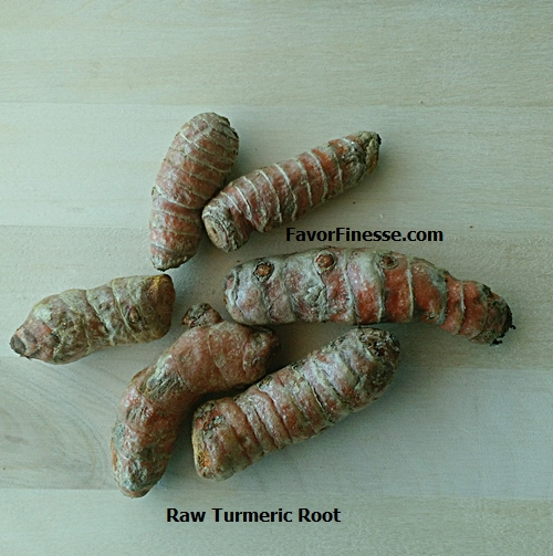 Raw Turmeric Root