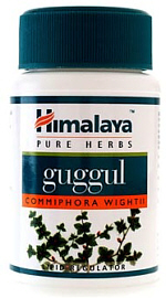 Himalaya Guggul is a pure herb which is an ayurvedic remedy for cholesterol control