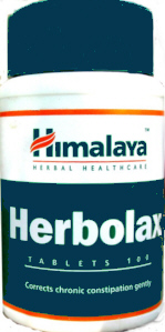 Himalaya Herbolax for easy bowel movements