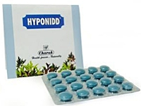 Hyponidd helps to control blood sugar and lipid levels