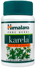 Himalaya Karela or Bitter melon is a herb for maintaining normal blood sugar