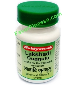 Baidyanath Lakshadi Guggulu 80 tablets bottle