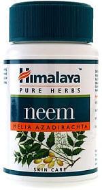Himalaya Neem is a herb that detoxifies and helps maintain normal blood sugar
