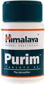 Himalaya Purim ayurvedic formula for skin health & detoxification