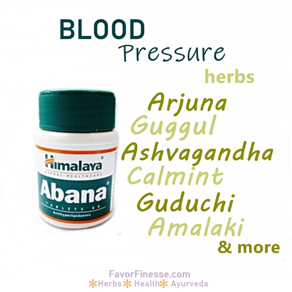 Abana herbal formulation for heart and blood pressure
