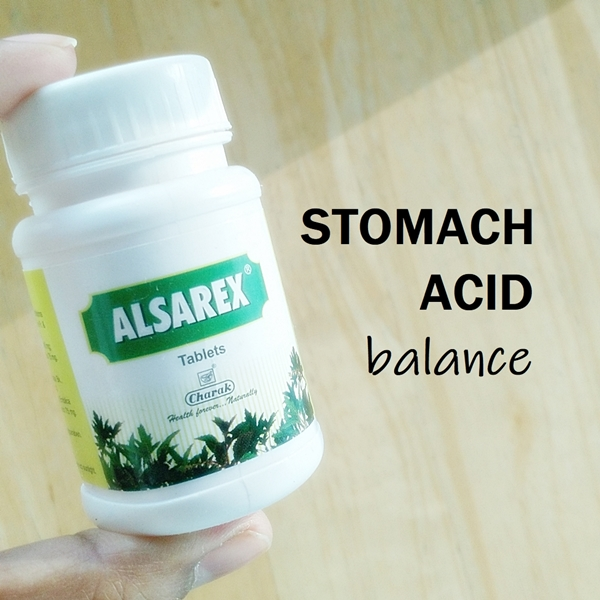 Alsarex stomach acidity
