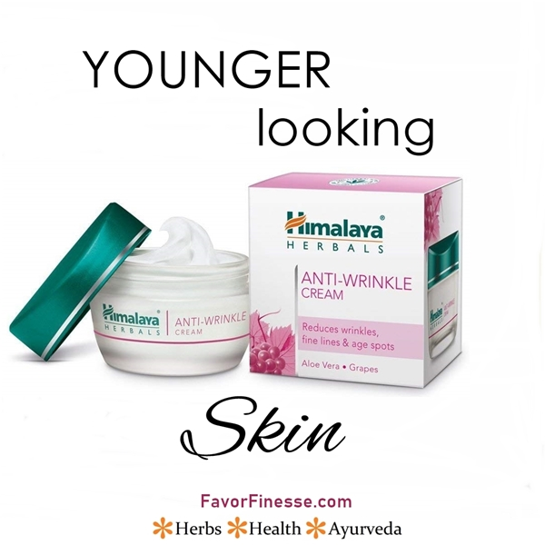 Himalaya Anti-Wrinkle Cream for younger looking skin