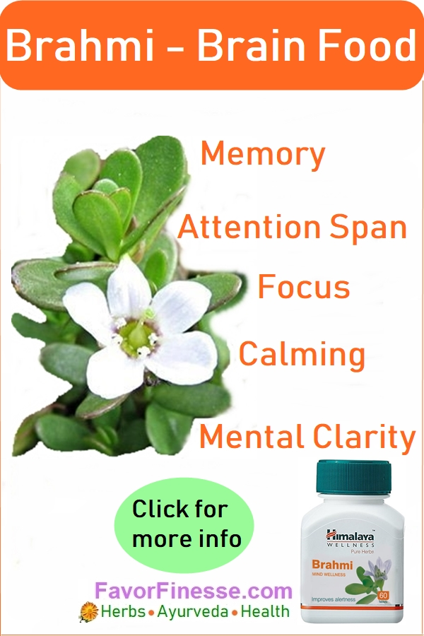Brahmi Brain Food Benefits for the mind