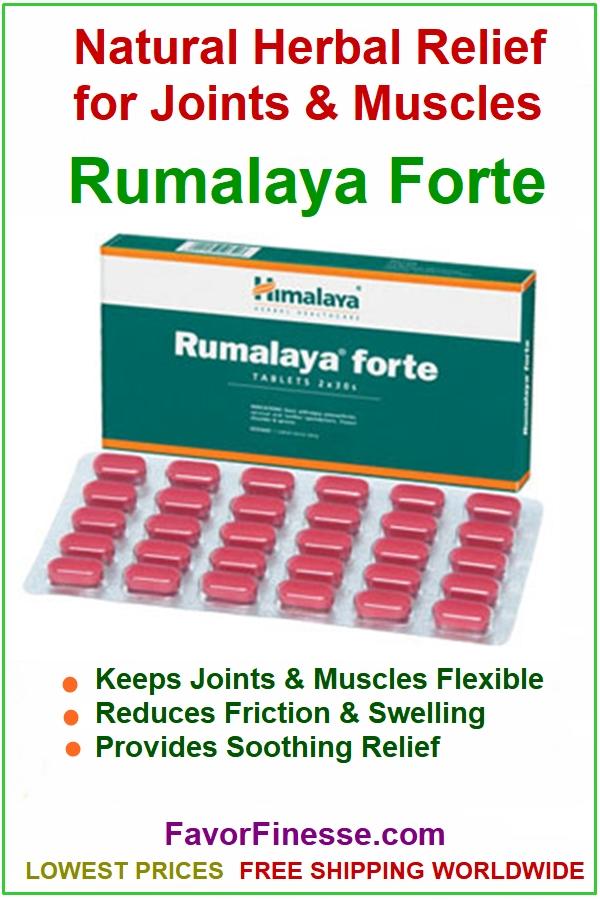 Rumalaya Forte infographic