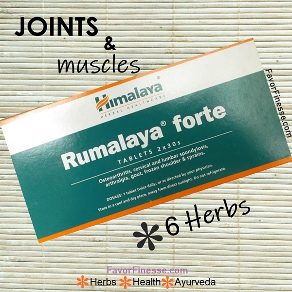 Rumalaya Forte for joints and muscles